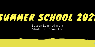 Student experience of setting-up a summer school